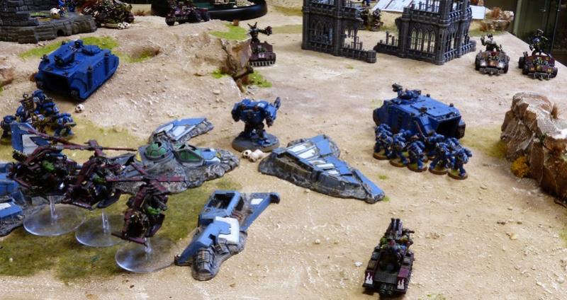 Warhammer 40K. Galerie de Batailles ! - Page 6 P1200370