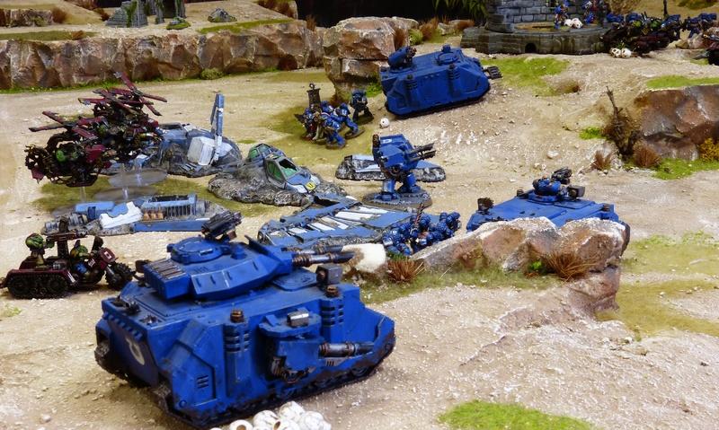 Warhammer 40K. Galerie de Batailles ! - Page 6 P1200371