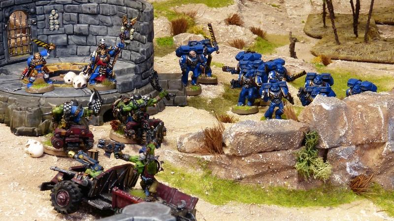 Warhammer 40K. Galerie de Batailles ! - Page 6 P1200378