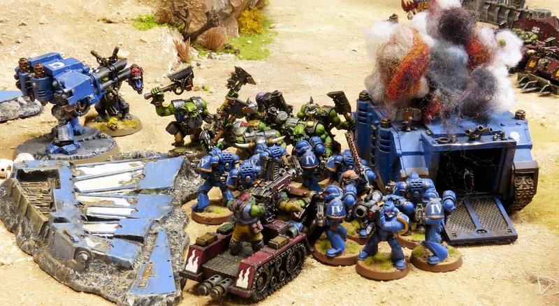 Warhammer 40K. Galerie de Batailles ! - Page 6 P1200381