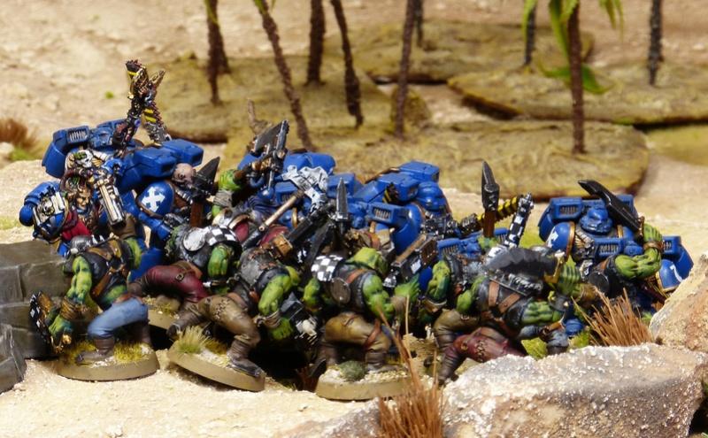 Warhammer 40K. Galerie de Batailles ! - Page 6 P1200383