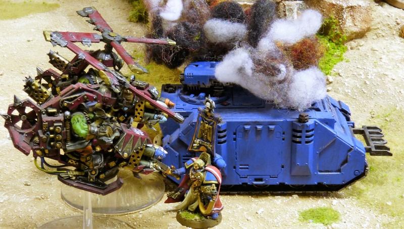 Warhammer 40K. Galerie de Batailles ! - Page 6 P1200390