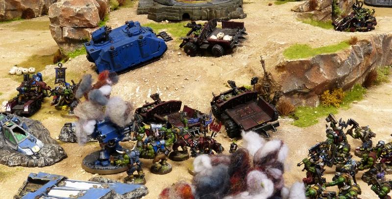 Warhammer 40K. Galerie de Batailles ! - Page 6 P1200392