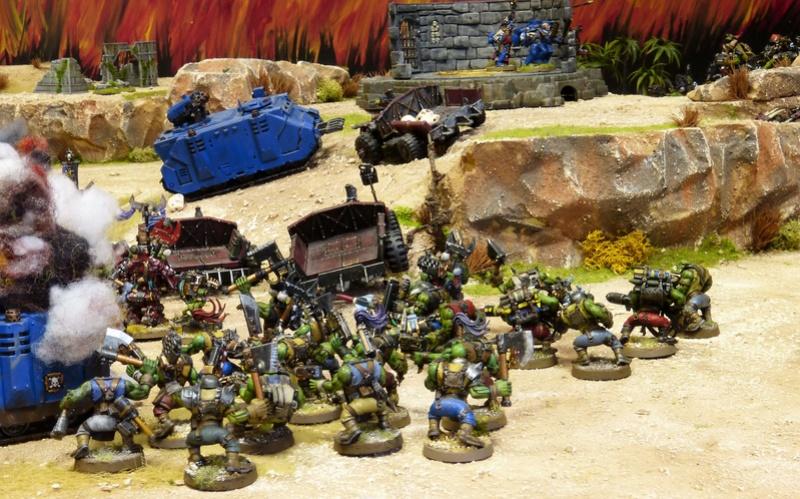 Warhammer 40K. Galerie de Batailles ! - Page 6 P1200394