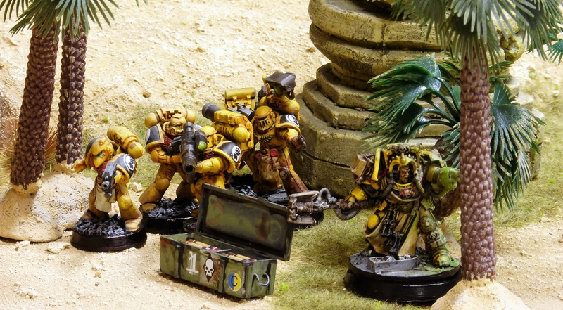 Warhammer 40K. Galerie de Batailles ! - Page 6 P1200812