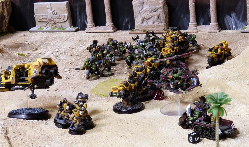 Warhammer 40K. Galerie de Batailles ! - Page 6 P1200818