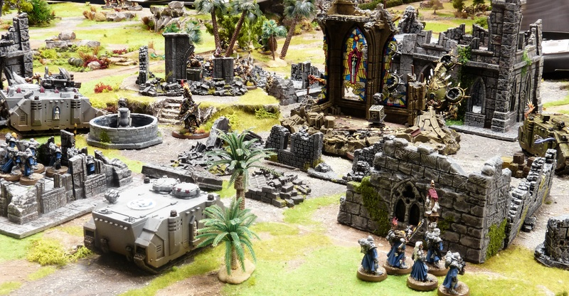 Warhammer 40K. Galerie de Batailles ! - Page 6 P1200870