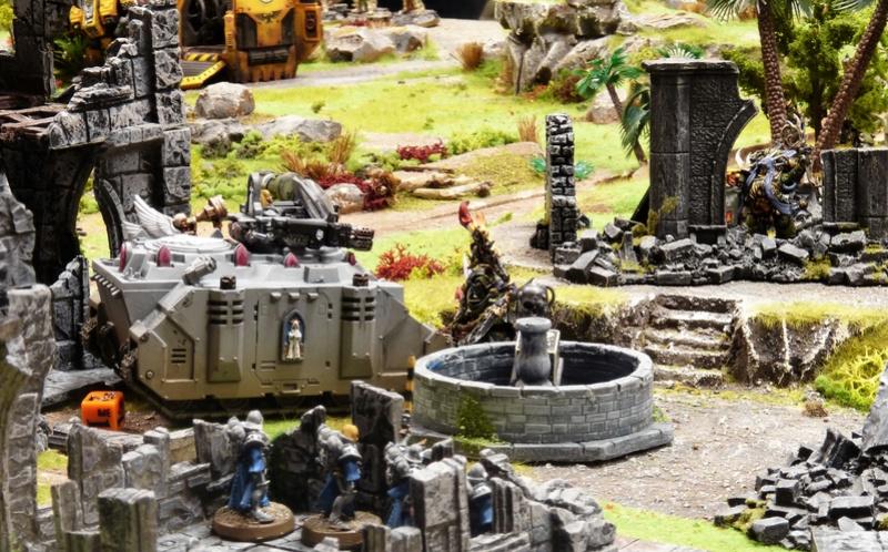 Warhammer 40K. Galerie de Batailles ! - Page 6 P1200881