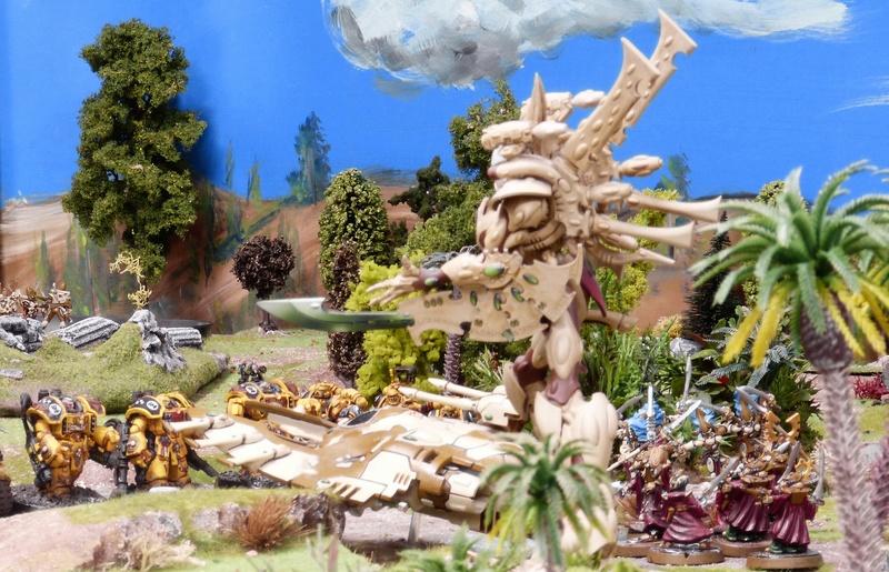 Warhammer 40K. Galerie de Batailles ! - Page 6 P1200887
