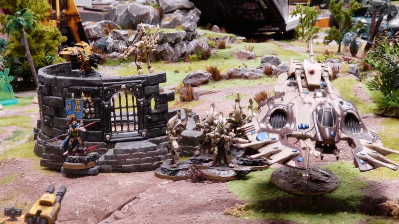 Warhammer 40K. Galerie de Batailles ! - Page 6 P1200915