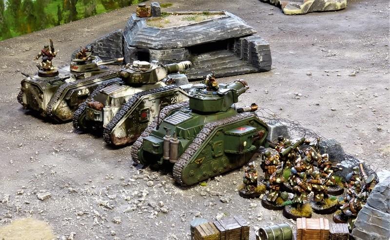 Warhammer 40K. Galerie de Batailles ! - Page 6 P1200980