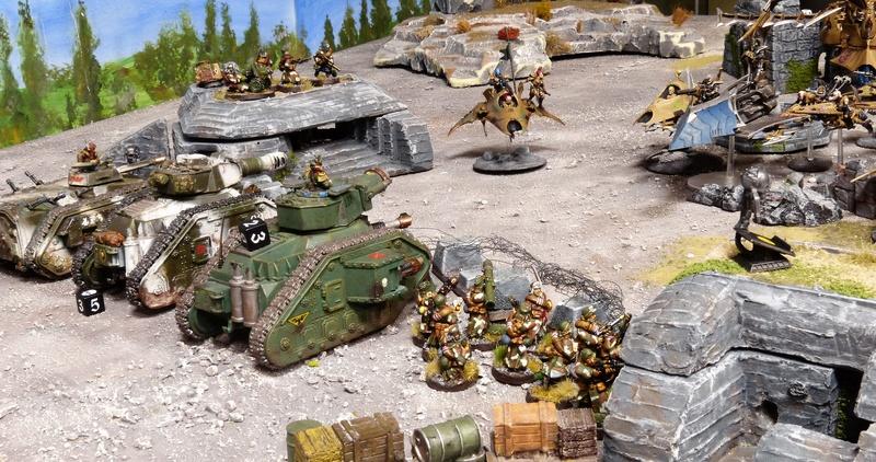 Warhammer 40K. Galerie de Batailles ! - Page 6 P1210011