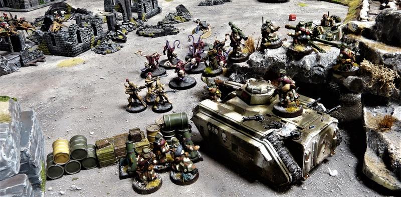 Warhammer 40K. Galerie de Batailles ! - Page 6 P1210012