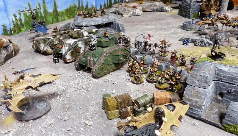 Warhammer 40K. Galerie de Batailles ! - Page 6 P1210015