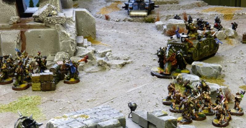 Warhammer 40K. Galerie de Batailles ! - Page 6 P1210070