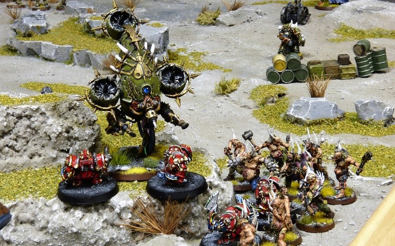 Warhammer 40K. Galerie de Batailles ! - Page 6 P1210072