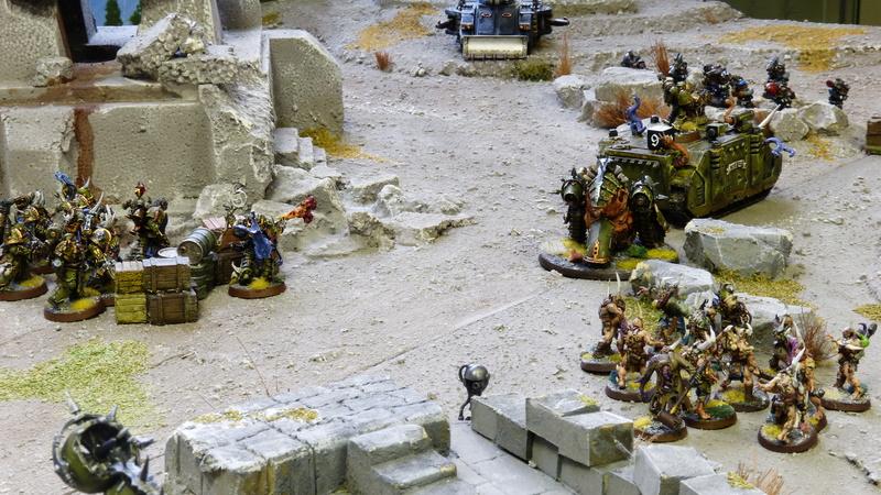 Warhammer 40K. Galerie de Batailles ! - Page 6 P1210073