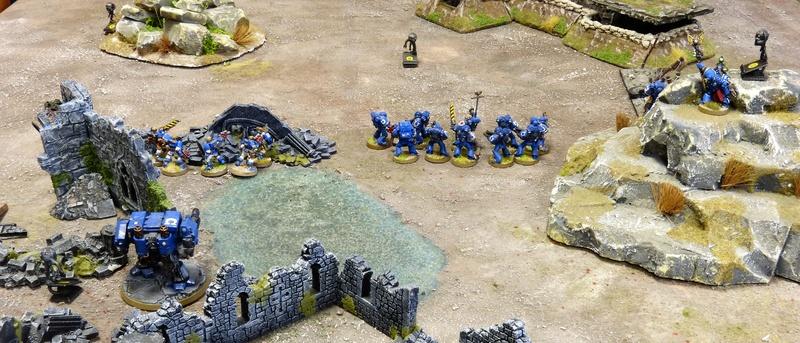Warhammer 40K. Galerie de Batailles ! - Page 6 P1210192