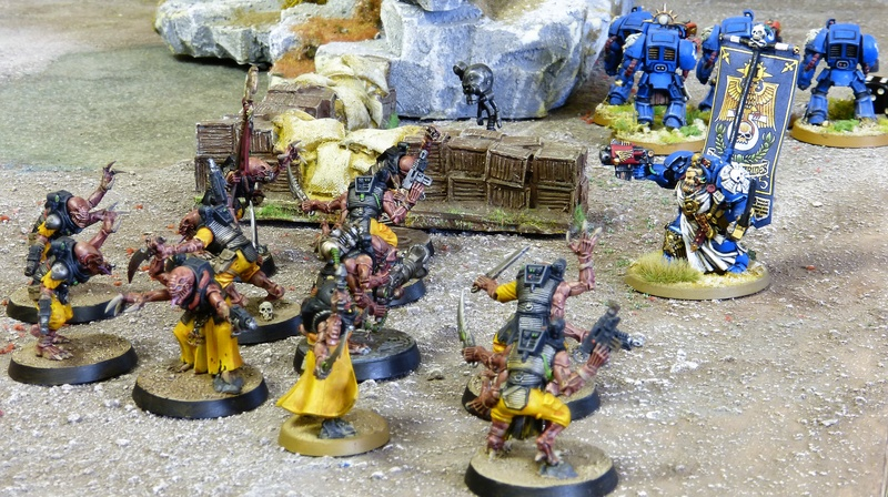 Warhammer 40K. Galerie de Batailles ! - Page 6 P1210211