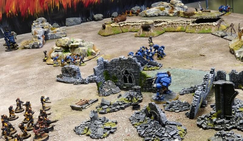 Warhammer 40K. Galerie de Batailles ! - Page 6 P1210214