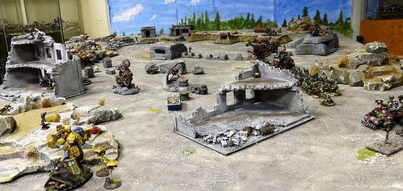 Warhammer 40K. Galerie de Batailles ! - Page 6 P1220710