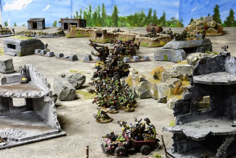 Warhammer 40K. Galerie de Batailles ! - Page 6 P1220711