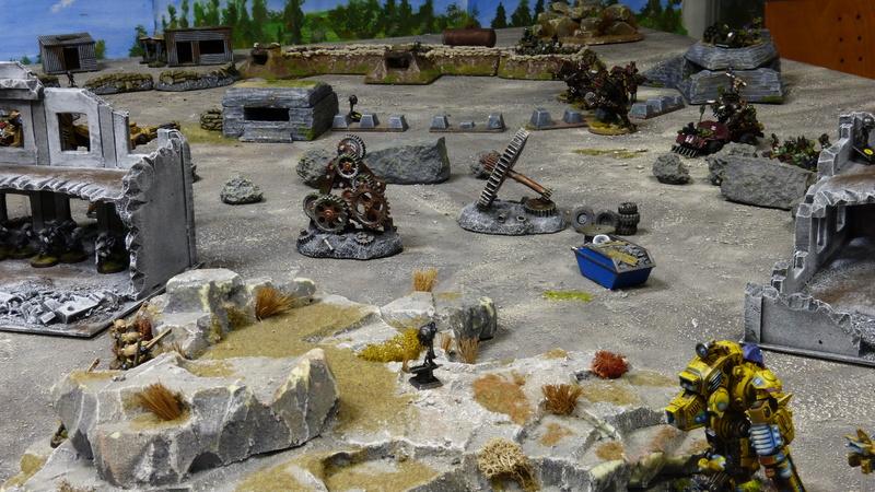 Warhammer 40K. Galerie de Batailles ! - Page 6 P1220712
