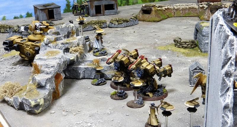 Warhammer 40K. Galerie de Batailles ! - Page 6 P1220819