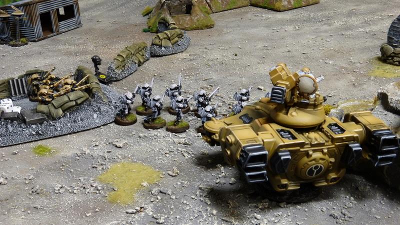 Warhammer 40K. Galerie de Batailles ! - Page 6 P1220820
