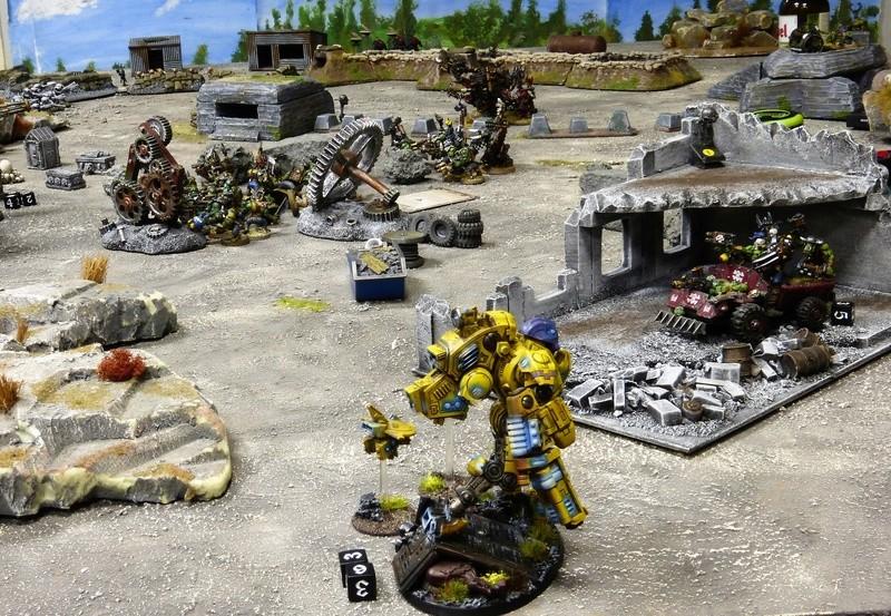 Warhammer 40K. Galerie de Batailles ! - Page 6 P1220823