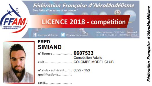 Coussoul Race F3K 2018- annulée pour mars ......... Licenc10
