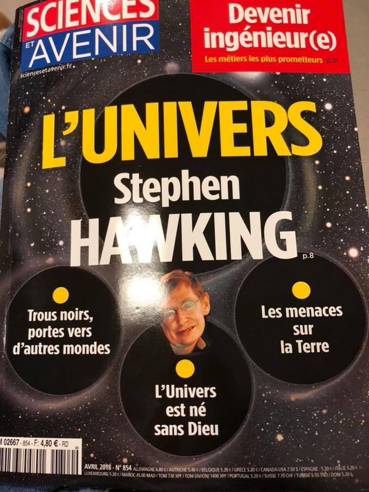 n° 854 AVRIL 2018 magazine sciences et avenir 29572510