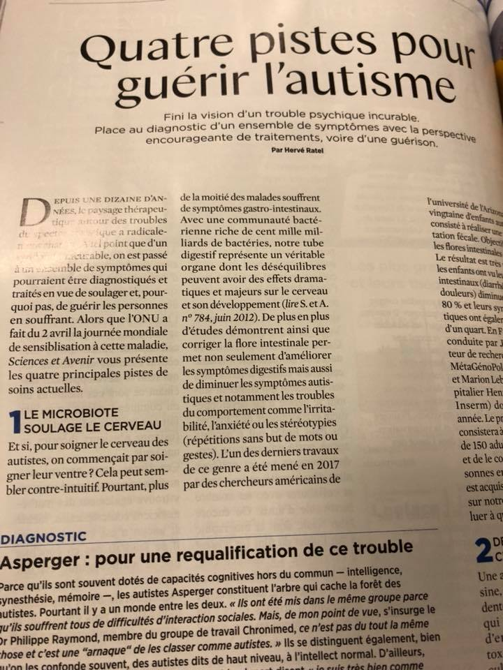 n° 854 AVRIL 2018 magazine sciences et avenir 29573010