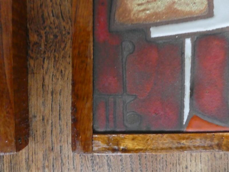 2 Italian Tiles with Monogram P1030129