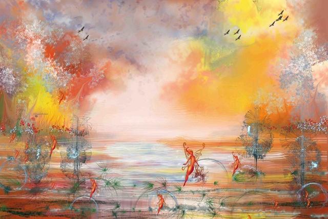 peinture numérique variées  17-enc10