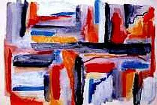 retour en arrière sur débuts abstraction  Geomet10