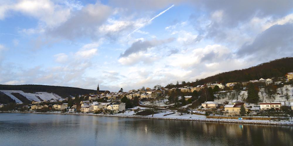 Contz les Bains, sous la neige, mi octobre : 2017-128