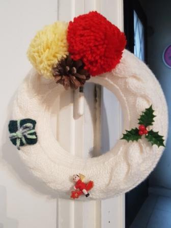 Décorations de Noël en laine 20171127