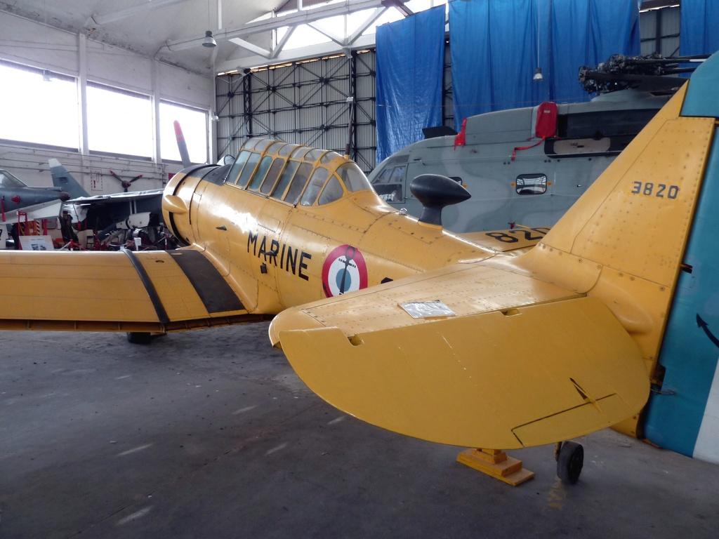 [ Les Musées en rapport avec la Marine ] Musée de l'Aeronautique Navale de Rochefort - Page 10 8236_p10