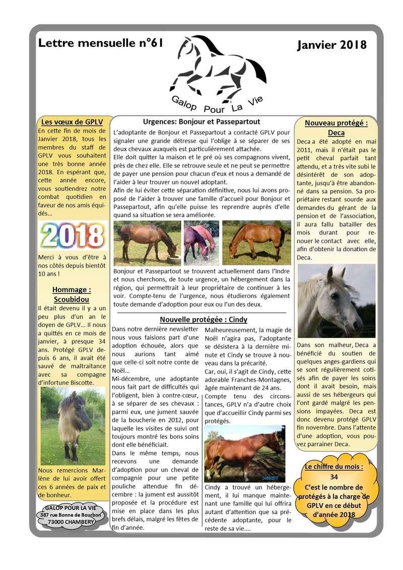 GPLV - Lettre Mensuelle n°61 - Janvier 2018 Nl_jan14