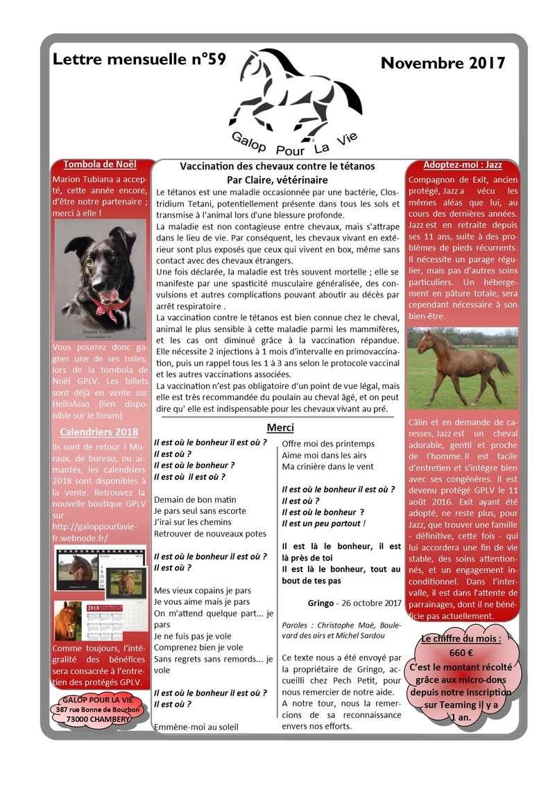 GPLV - Lettre Mensuelle n°59 - Novembre 2017  Nl_nov18