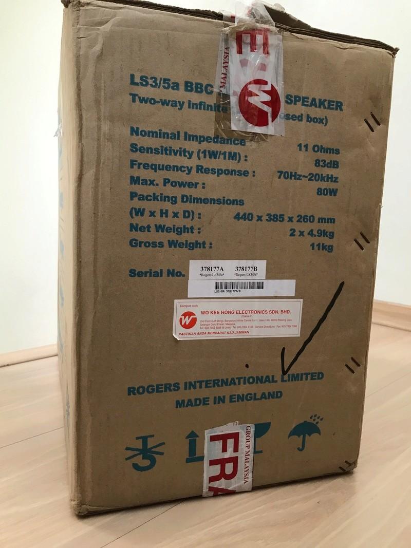 Rogers LS3/5a 60th Anniversary Edition 29e6cf10