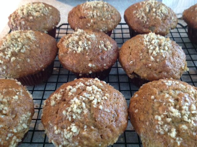 Muffins bananes et noix de Little Sweet Bakery Img_9012