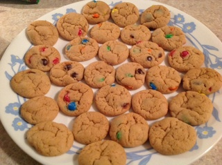 Biscuits mini M & M Img_9315