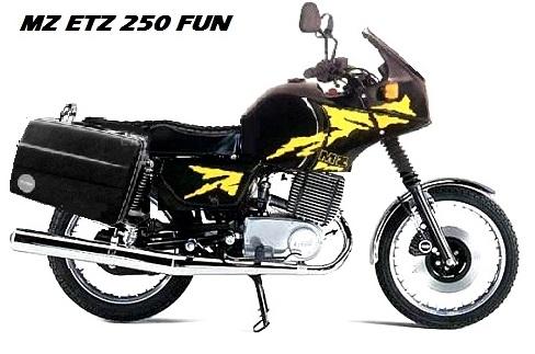 ETZ 250 FUN Mz-25010
