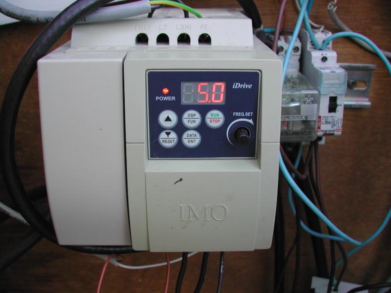 Branchement d'une pompe sta-rite 5P2R Dscn1814