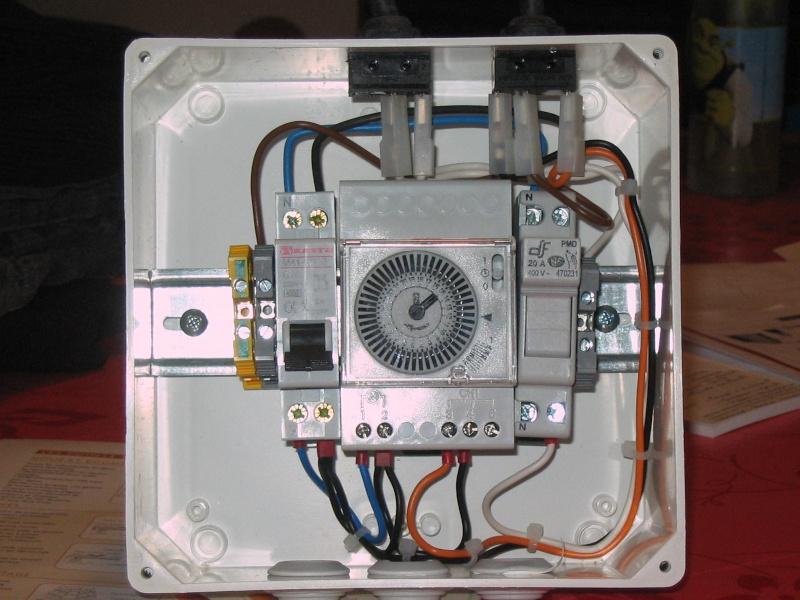 déporté un interrupteur pour projecteur piscine Tablea14