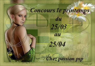 Concours le printemps du 25/03 au 25/04 Logo15