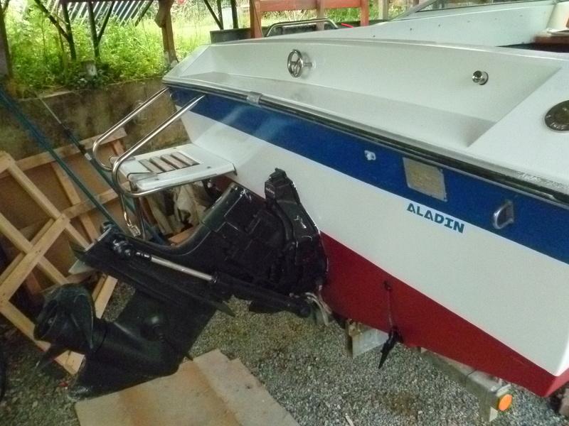 Démontage d'un bateau a moteur et réfection totale - Page 2 P1050811