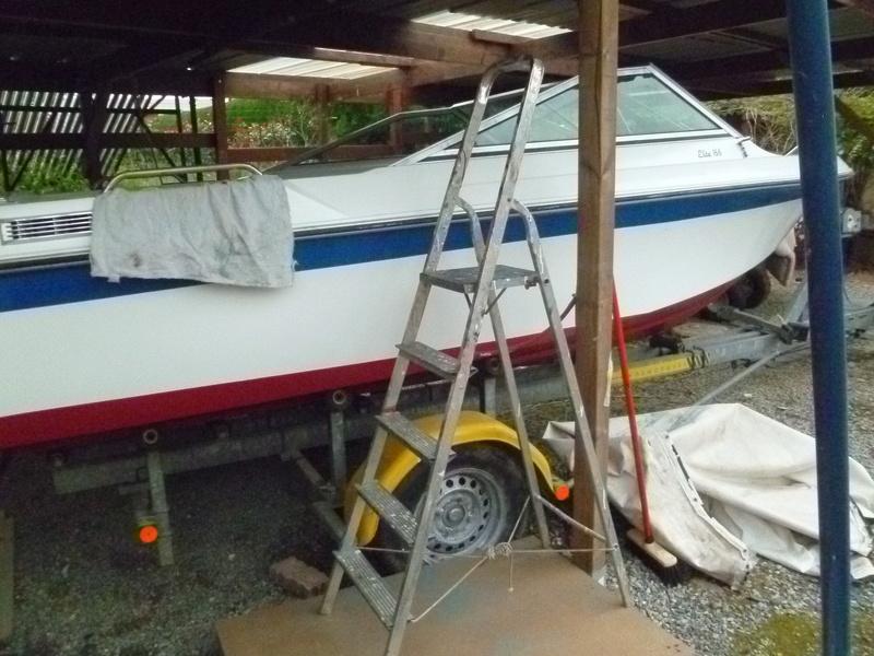 Démontage d'un bateau a moteur et réfection totale - Page 2 P1050814